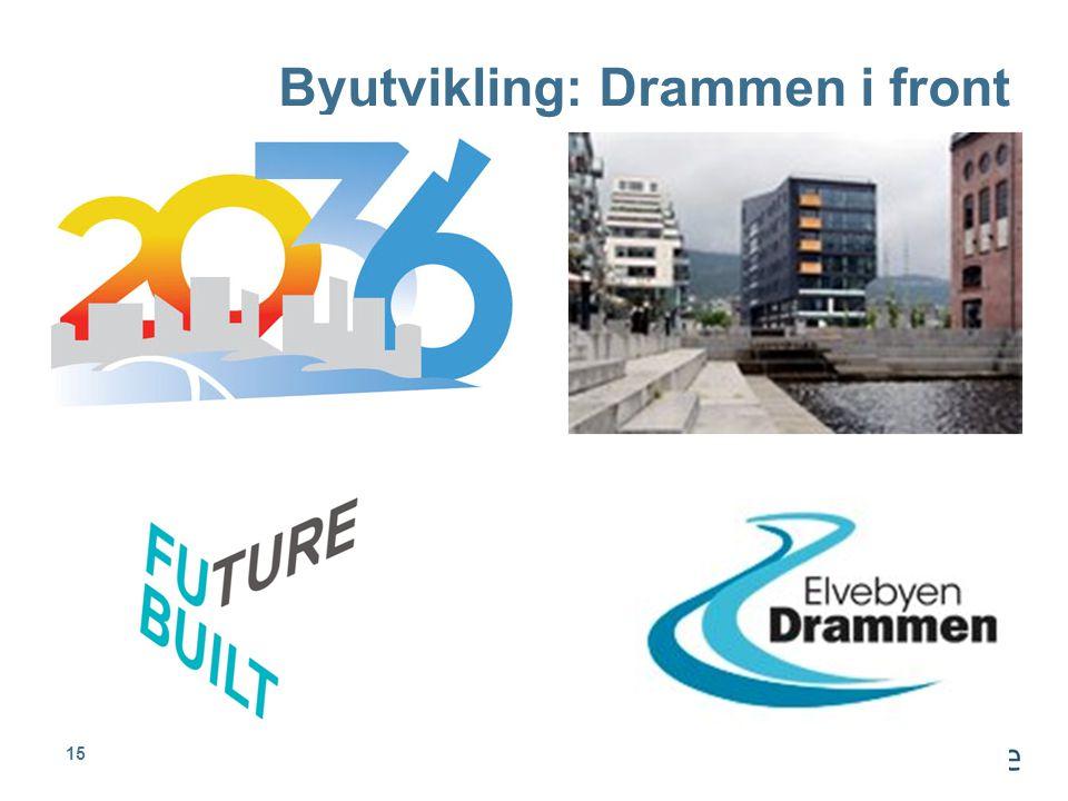 Byutvikling: Drammen i front
