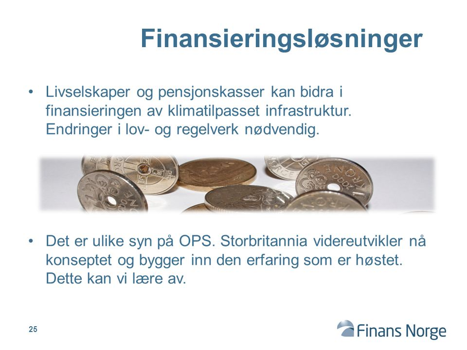 Finansieringsløsninger