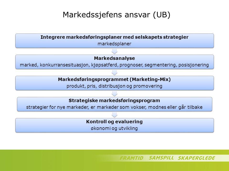 Markedssjefens ansvar (UB)