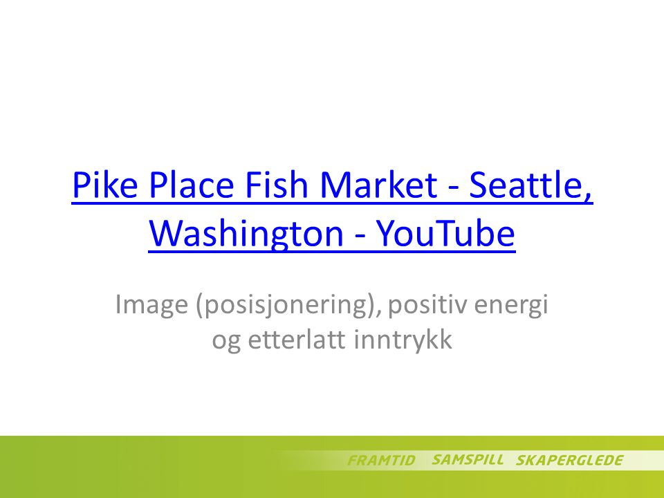 Pike Place Fish Market - Seattle, Washington - YouTube
