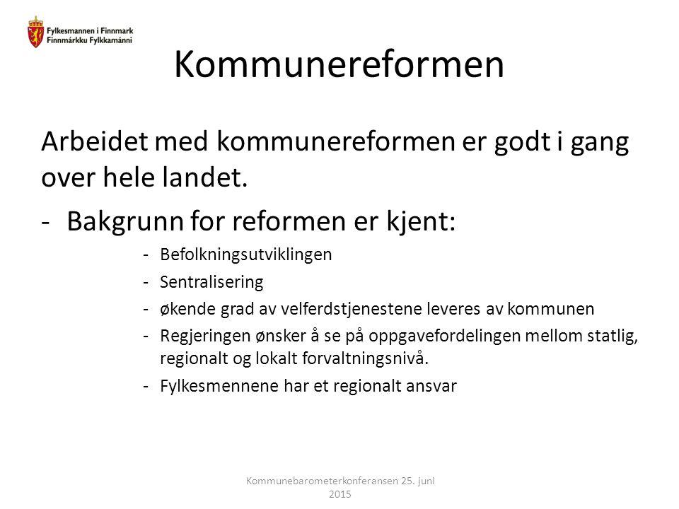 Kommunebarometerkonferansen 25. juni 2015
