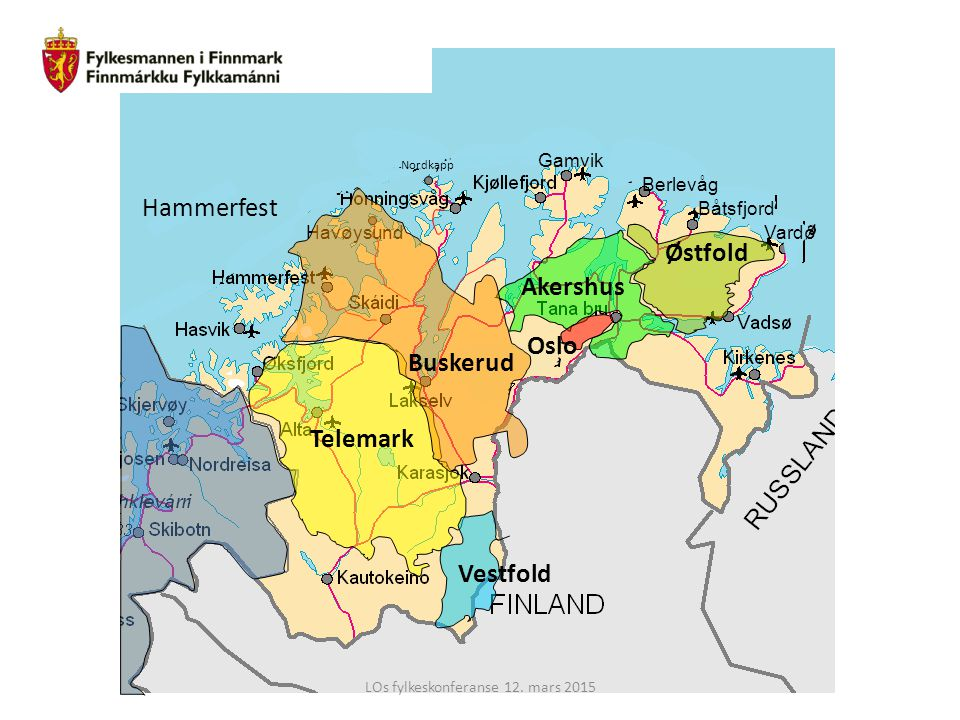 LOs fylkeskonferanse 12. mars 2015