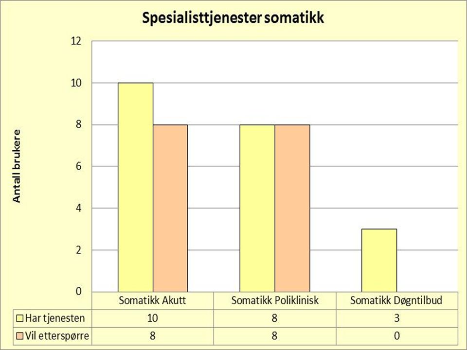 Spesialisttjenester somatikk