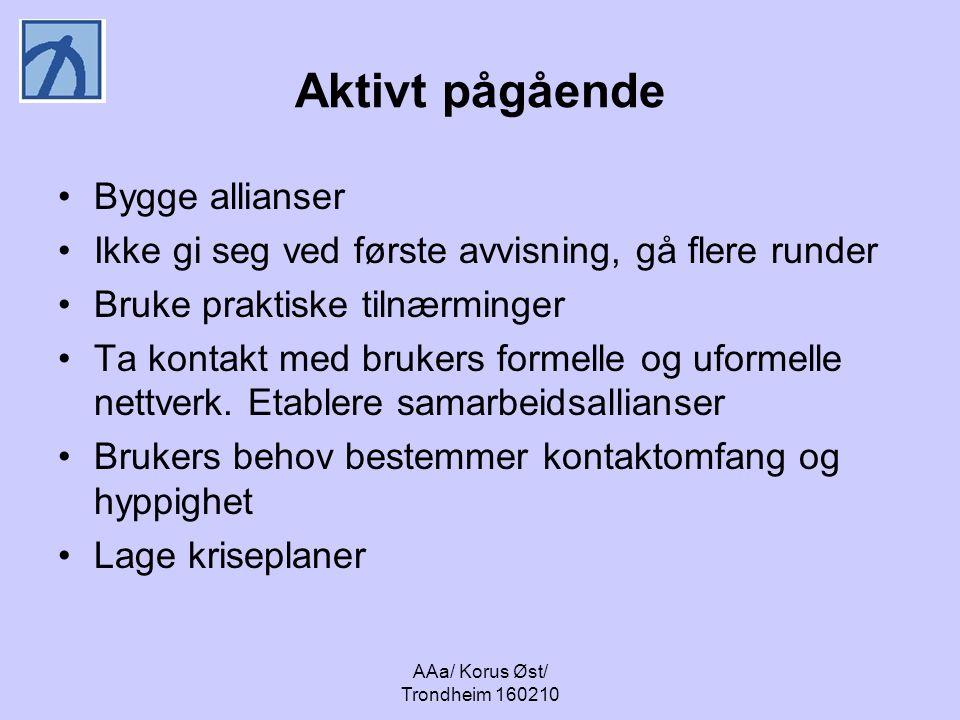 AAa/ Korus Øst/ Trondheim 160210