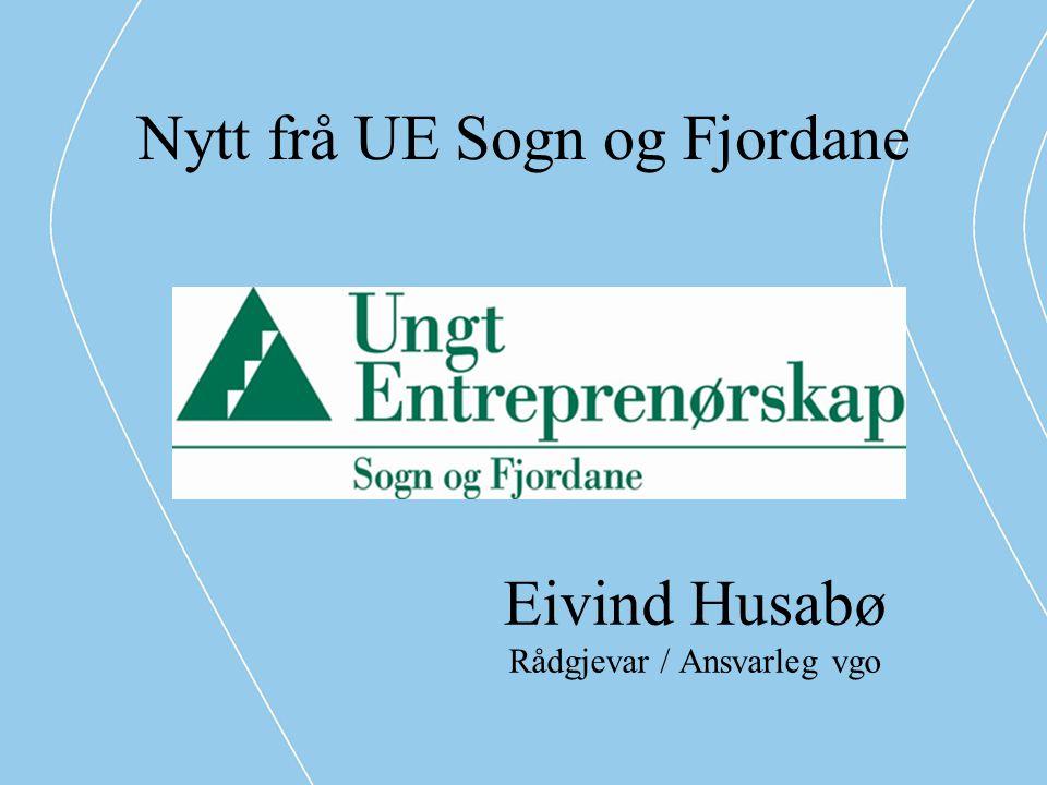 Nytt frå UE Sogn og Fjordane