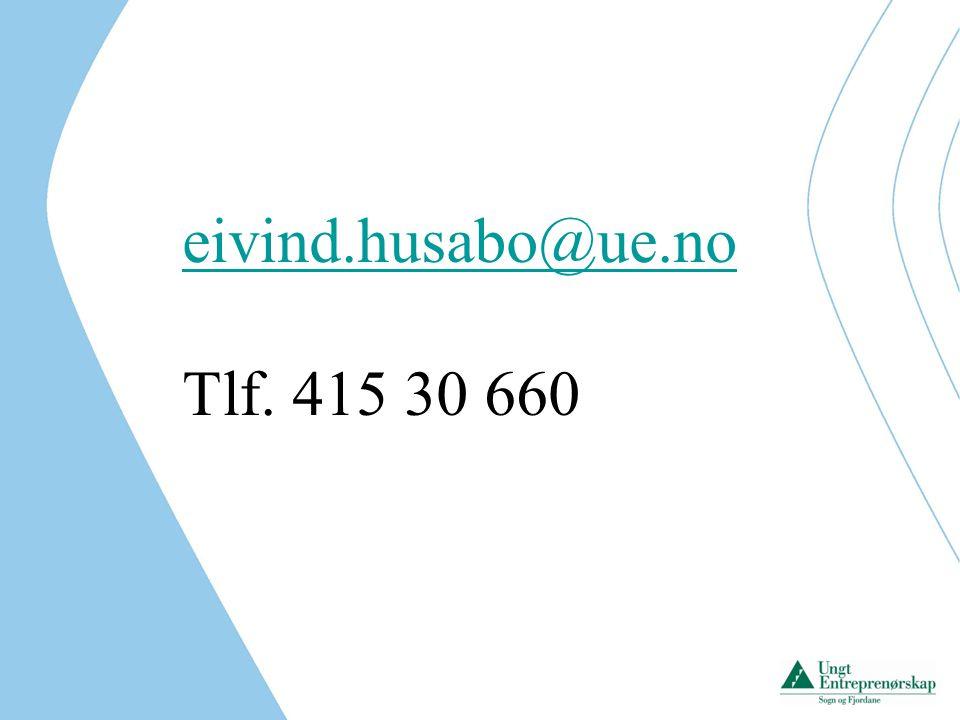 eivind.husabo@ue.no Tlf. 415 30 660