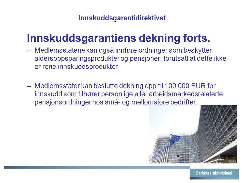 Innskuddsgarantidirektivet