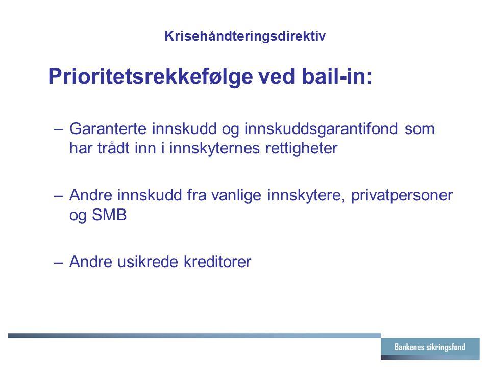 Krisehåndteringsdirektiv