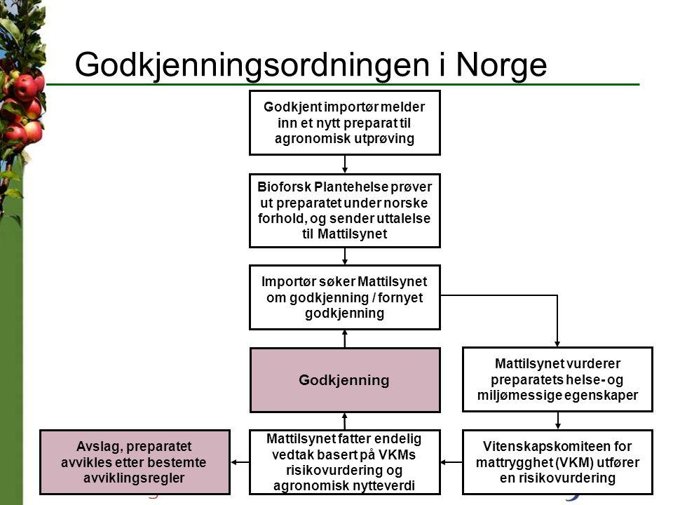 Godkjenningsordningen i Norge