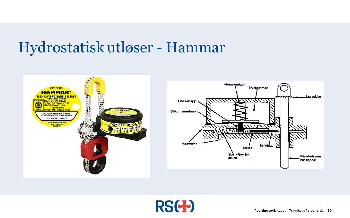 Hydrostatisk utløser - Hammar