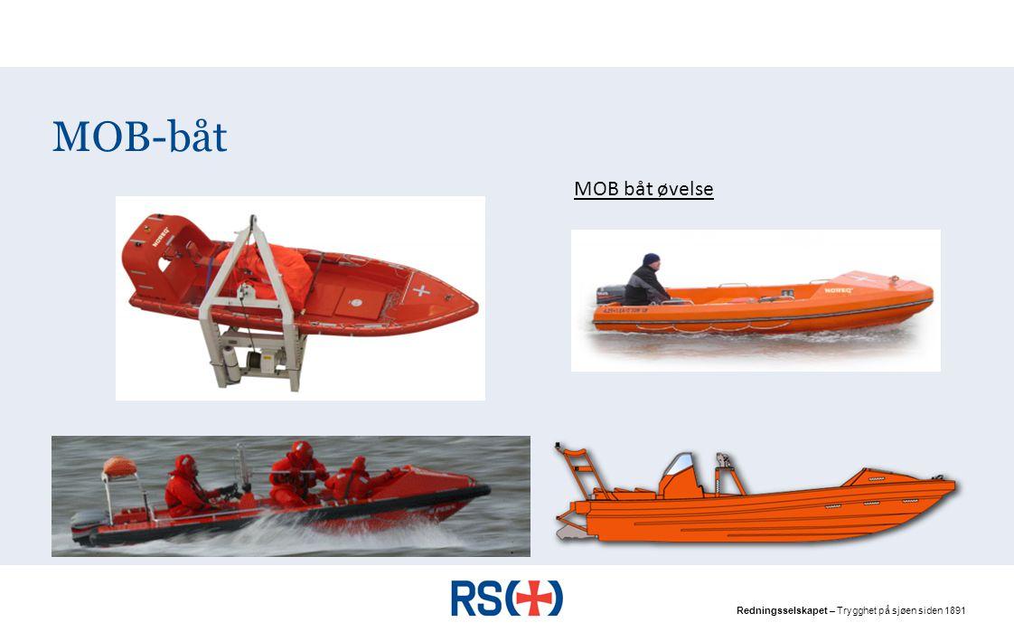 MOB-båt MOB båt øvelse