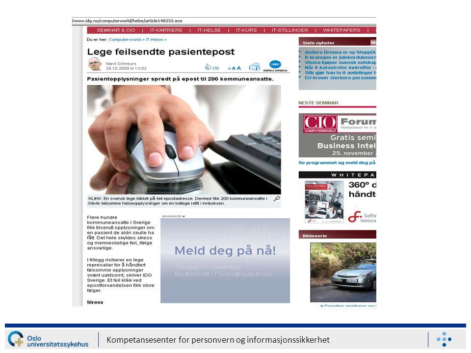 Kompetansesenter for personvern og informasjonssikkerhet