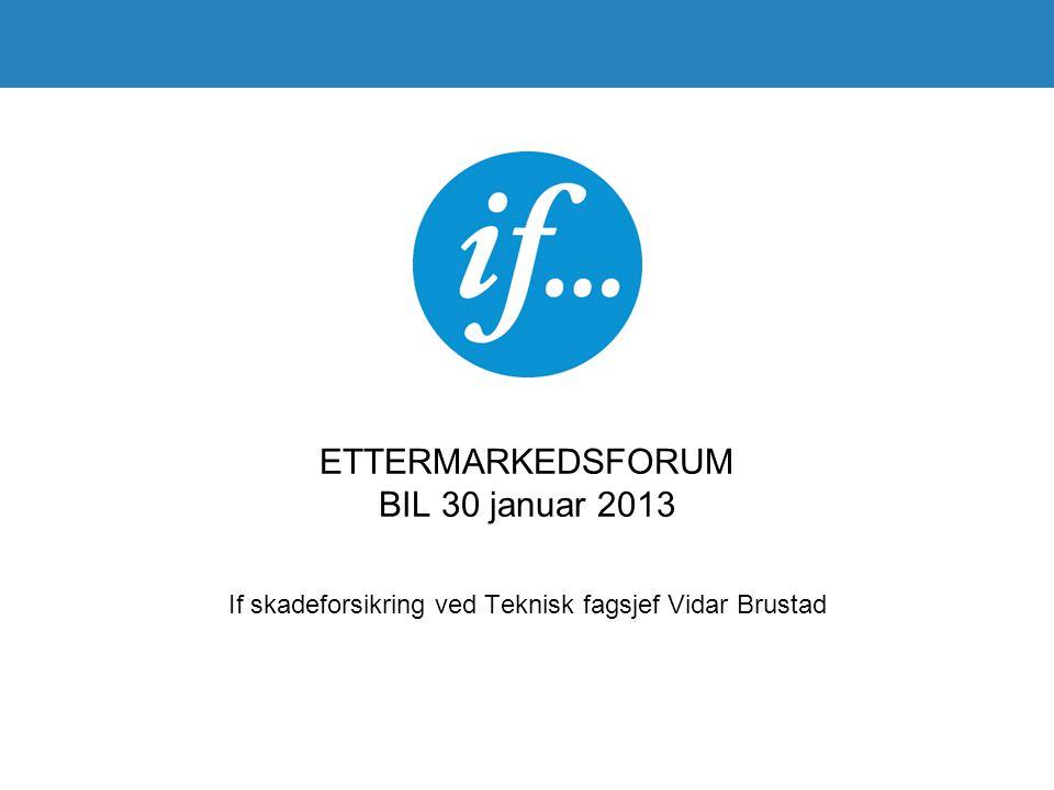 ETTERMARKEDSFORUM BIL 30 januar 2013