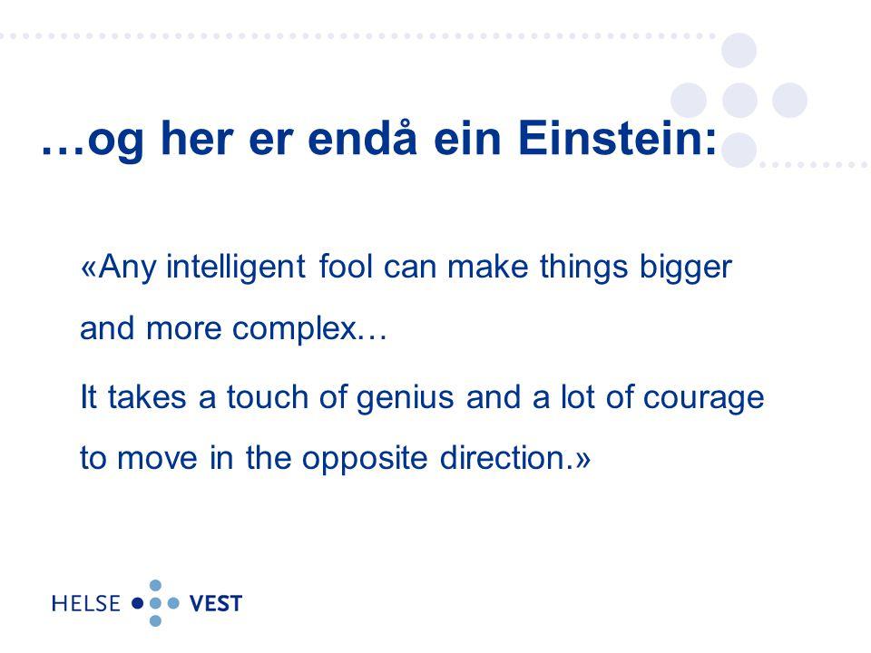 …og her er endå ein Einstein:
