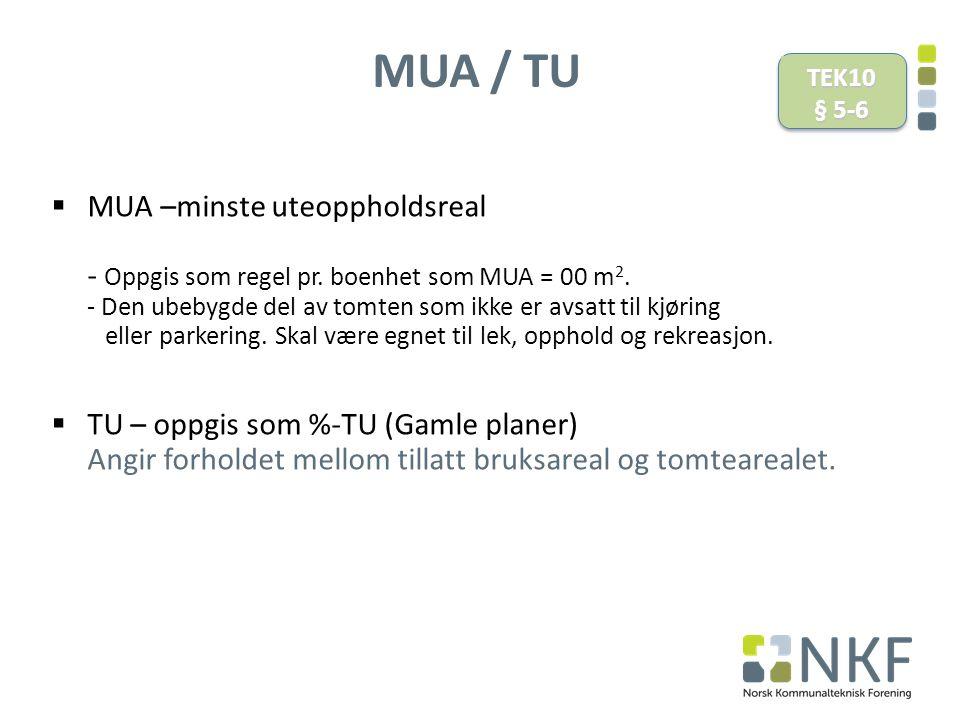 MUA / TU TEK10. § 5-6.