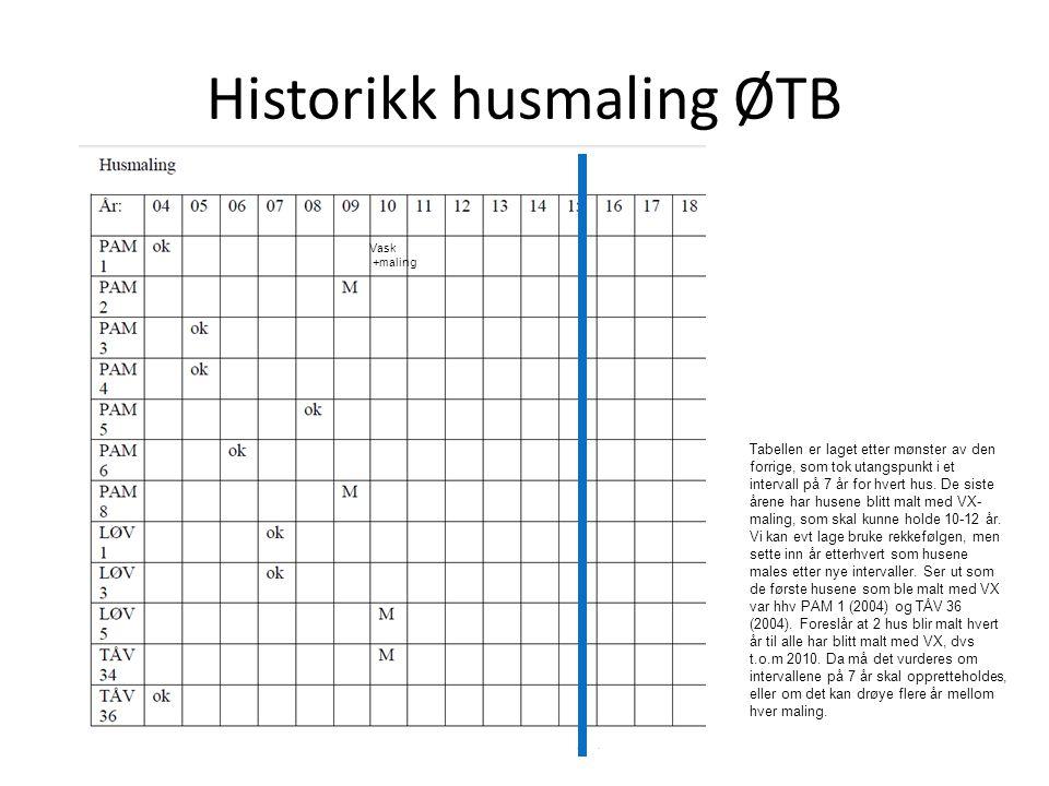 Historikk husmaling ØTB