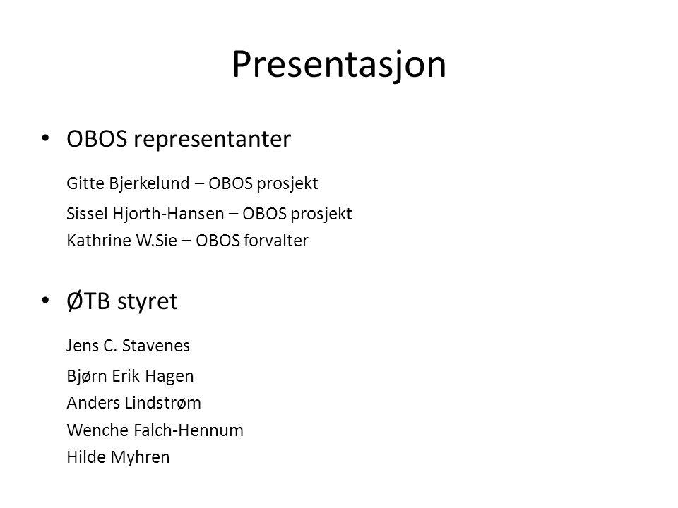 Presentasjon Gitte Bjerkelund – OBOS prosjekt Jens C. Stavenes