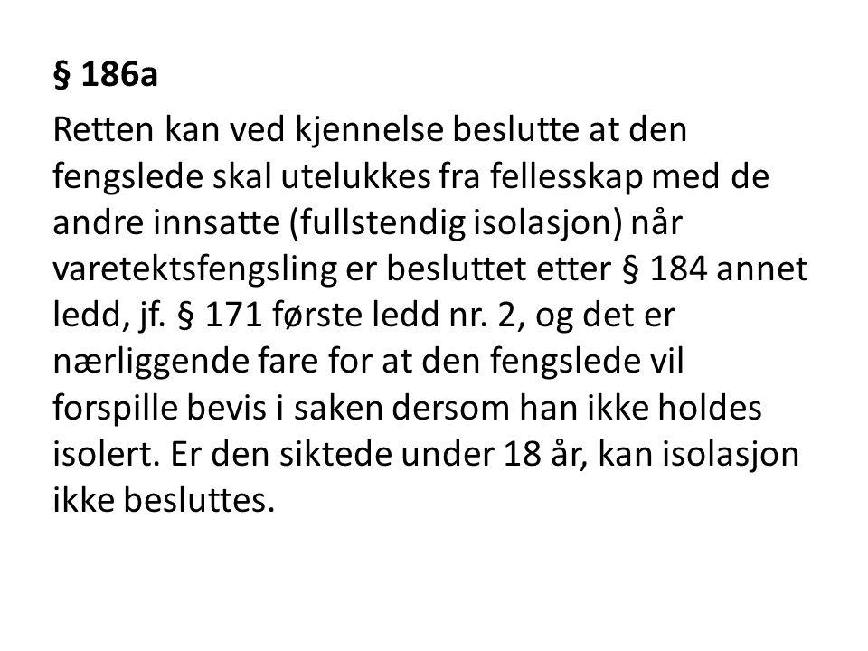 § 186a