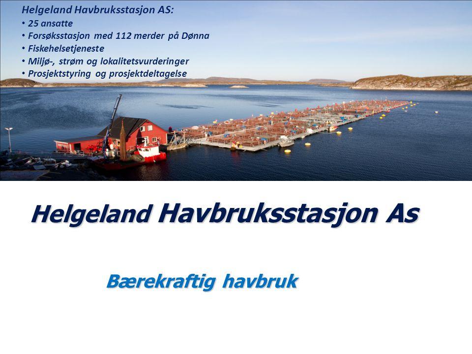 Helgeland Havbruksstasjon As