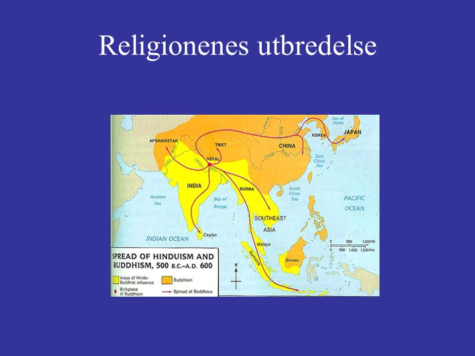 Religionenes utbredelse
