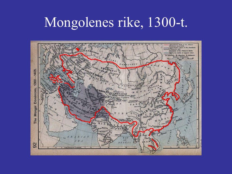 Mongolenes rike, 1300-t.