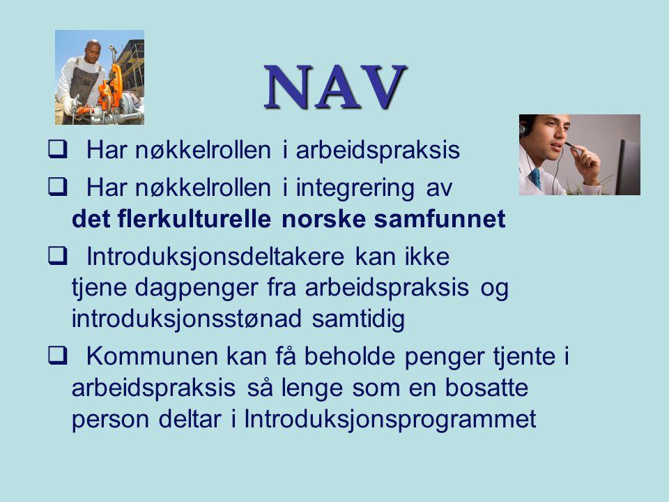 NAV Har nøkkelrollen i arbeidspraksis