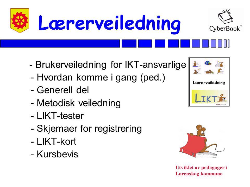 Lærerveiledning - Brukerveiledning for IKT-ansvarlige
