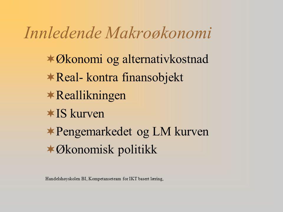 Innledende Makroøkonomi
