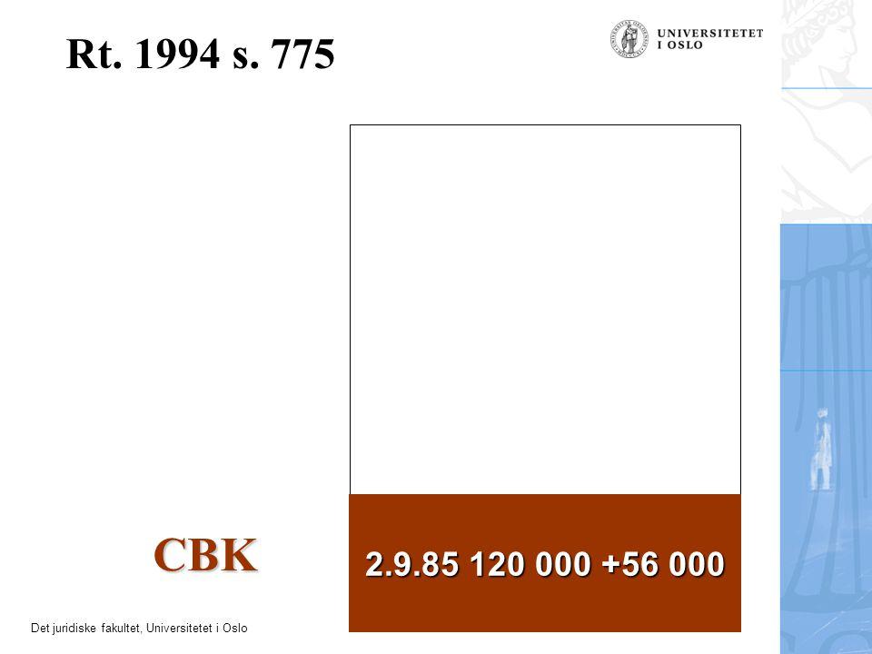 Rt. 1994 s. 775 2.9.85 120 000 +56 000 CBK 10