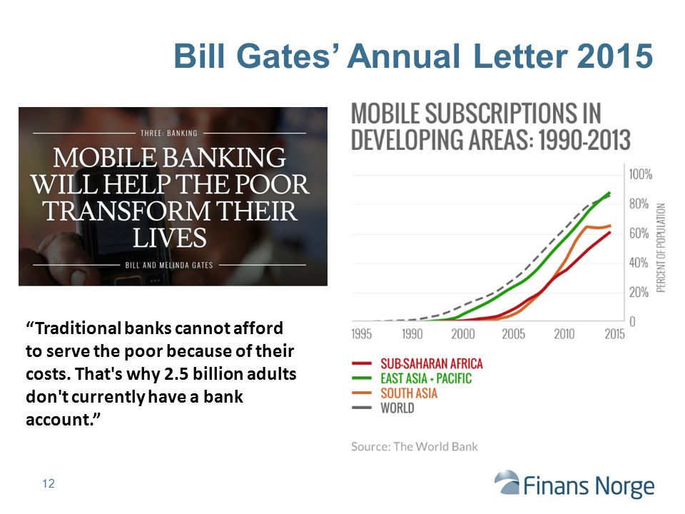 Bill Gates' Annual Letter 2015