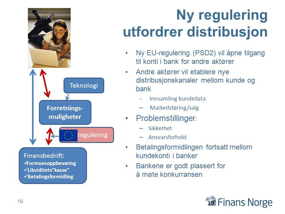 Ny regulering utfordrer distribusjon