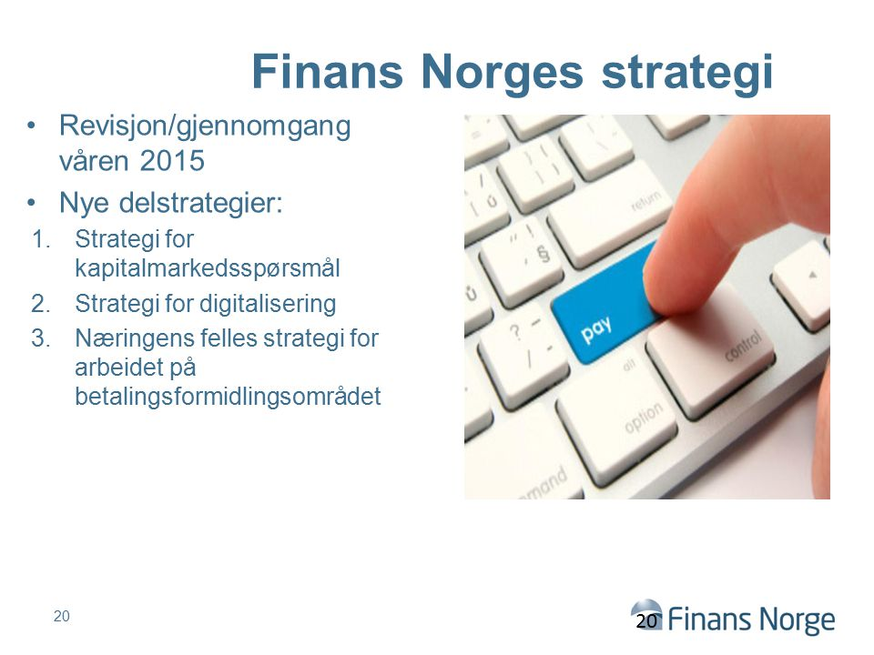 Finans Norges strategi
