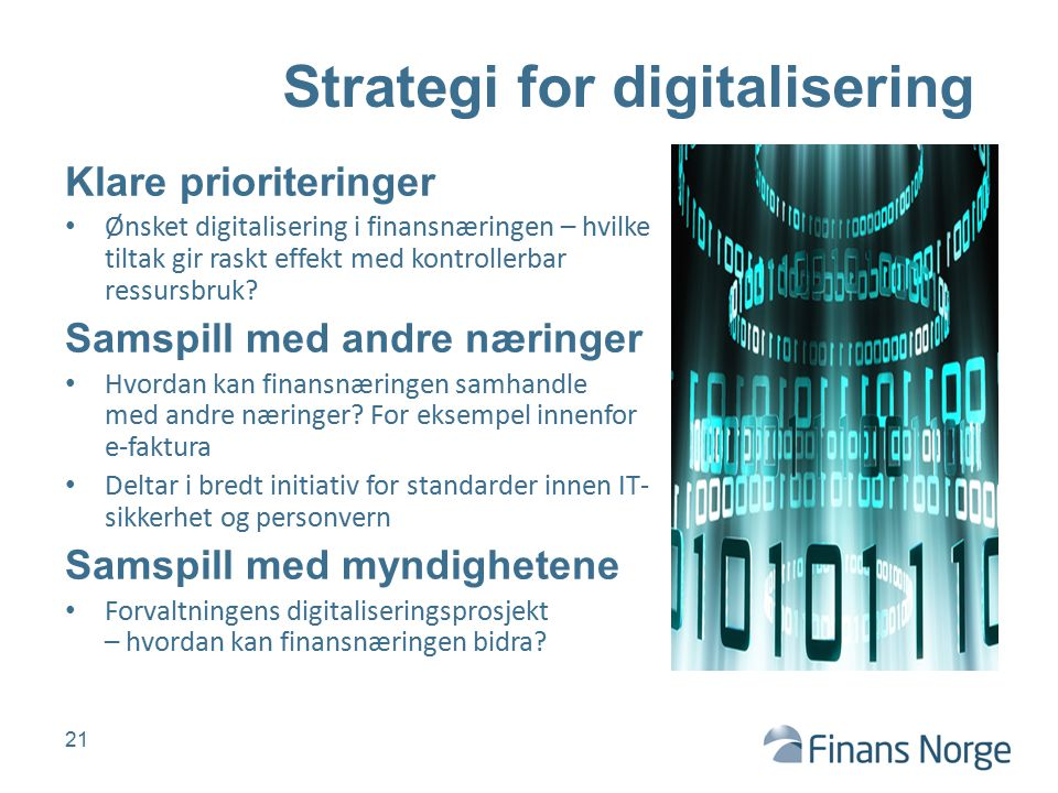 Strategi for digitalisering