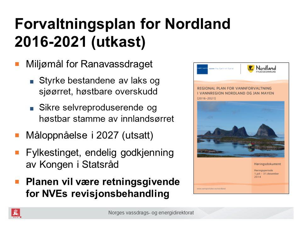 Forvaltningsplan for Nordland 2016-2021 (utkast)