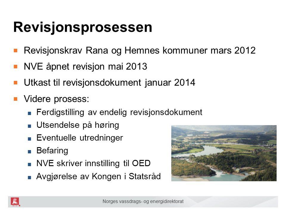 Revisjonsprosessen Revisjonskrav Rana og Hemnes kommuner mars 2012