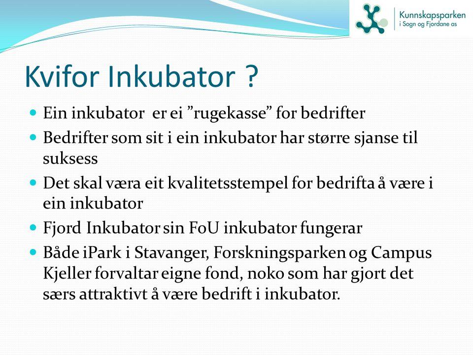 Kvifor Inkubator Ein inkubator er ei rugekasse for bedrifter