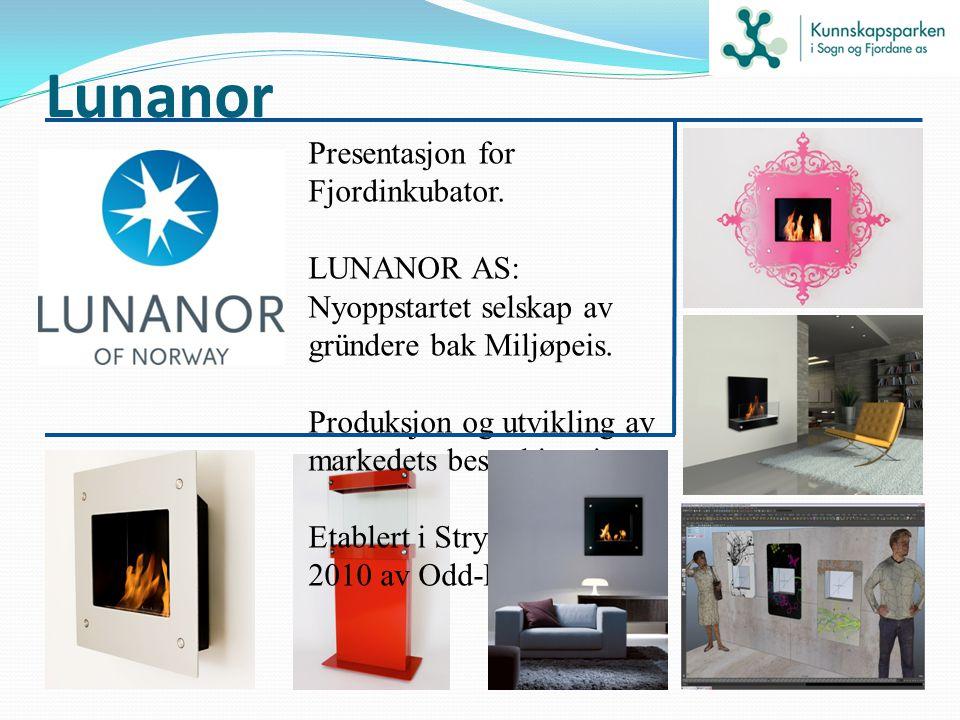 Lunanor Presentasjon for Fjordinkubator.