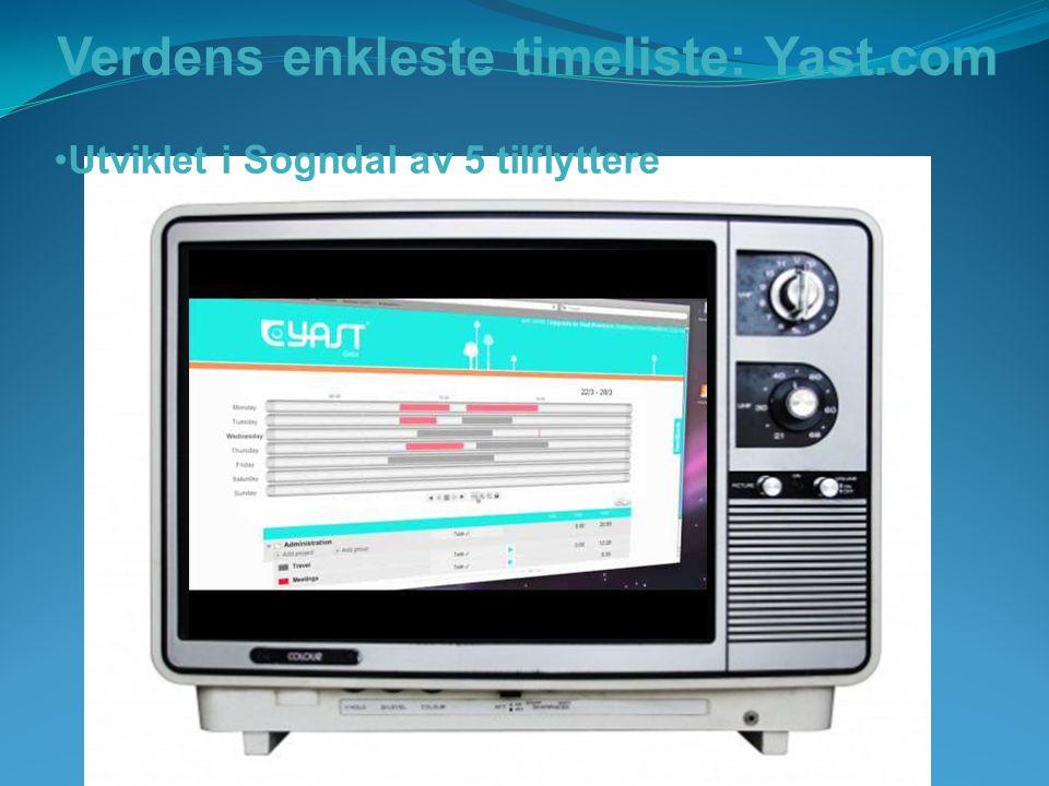 Verdens enkleste timeliste: Yast.com