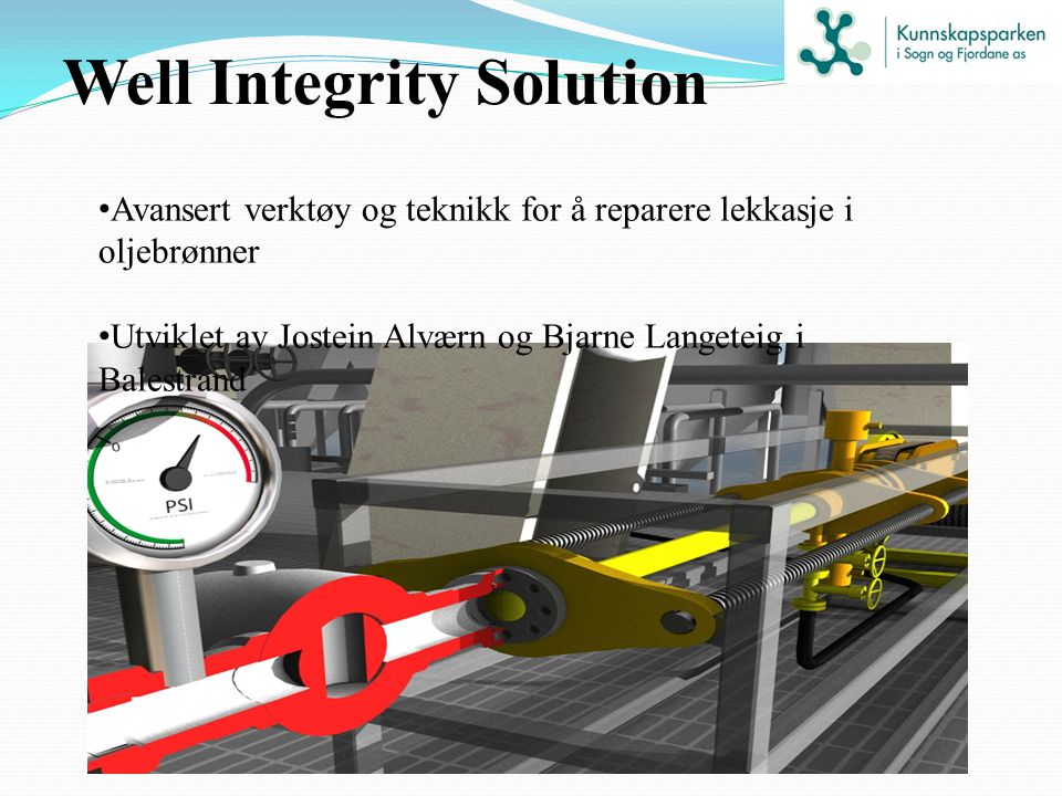 Well Integrity Solution