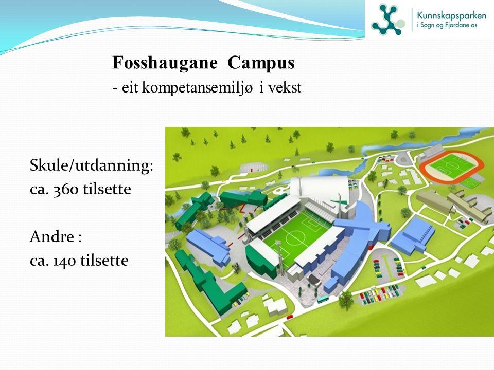Fosshaugane Campus - eit kompetansemiljø i vekst