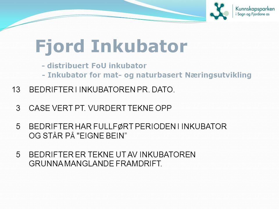 Fjord Inkubator - distribuert FoU inkubator