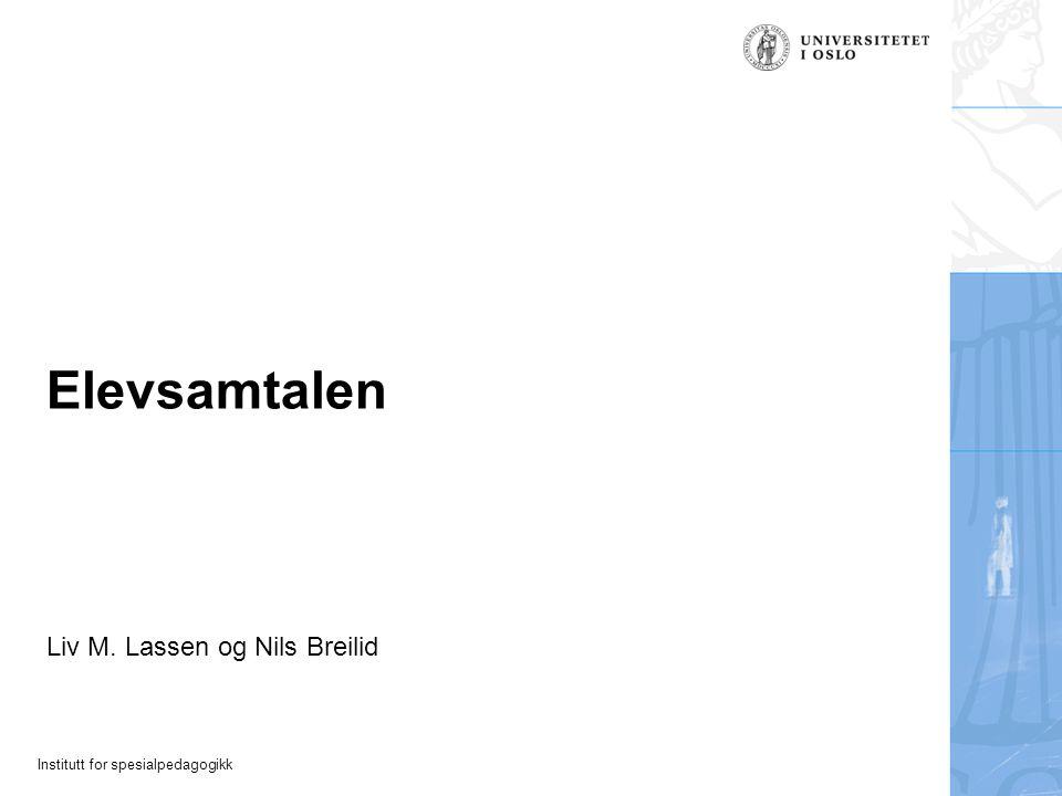 Liv M. Lassen og Nils Breilid