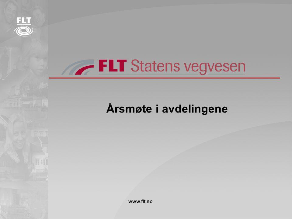 Årsmøte i avdelingene www.flt.no