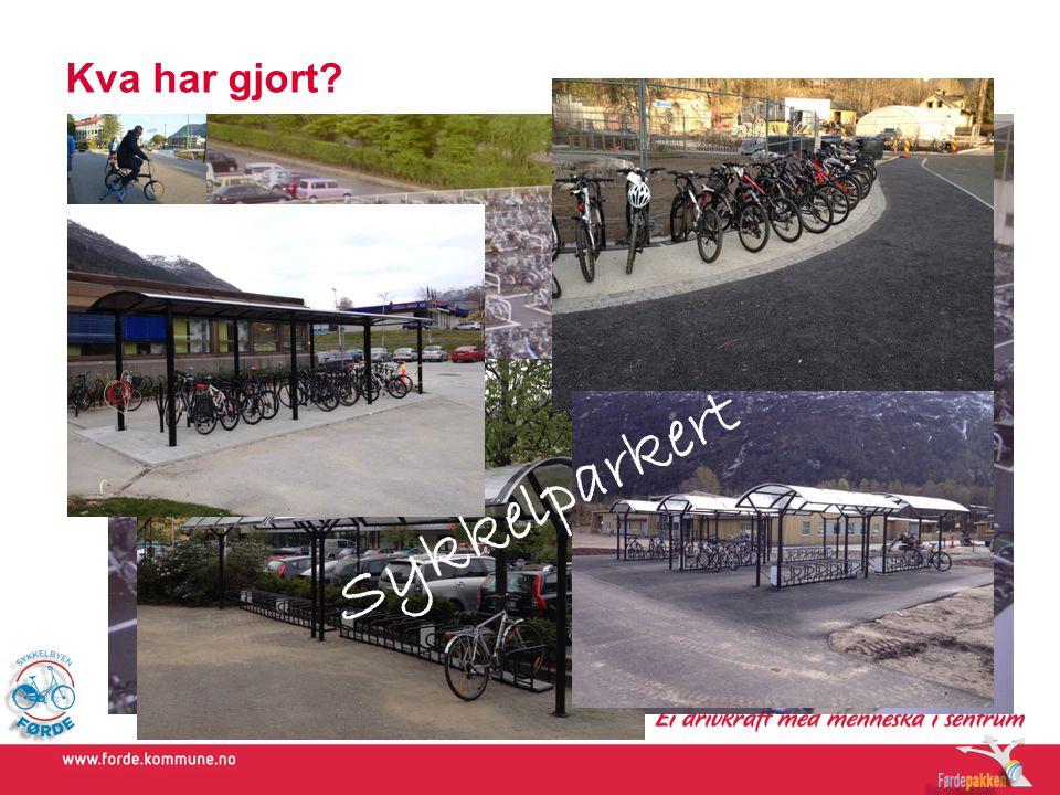 Kva har gjort Sykkelparkert