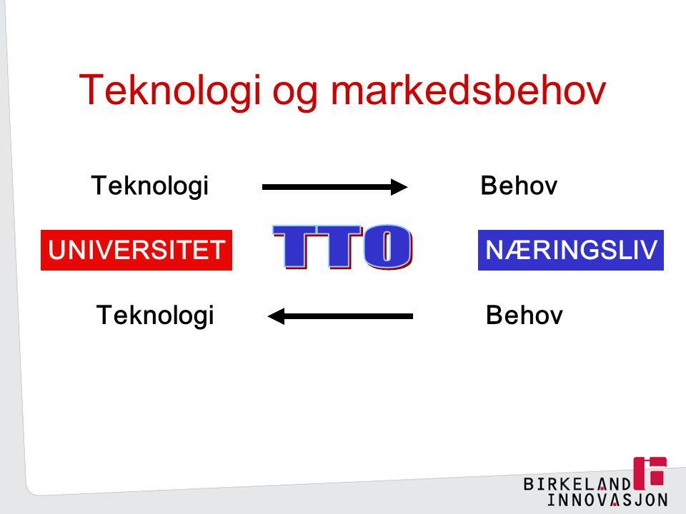 Teknologi og markedsbehov