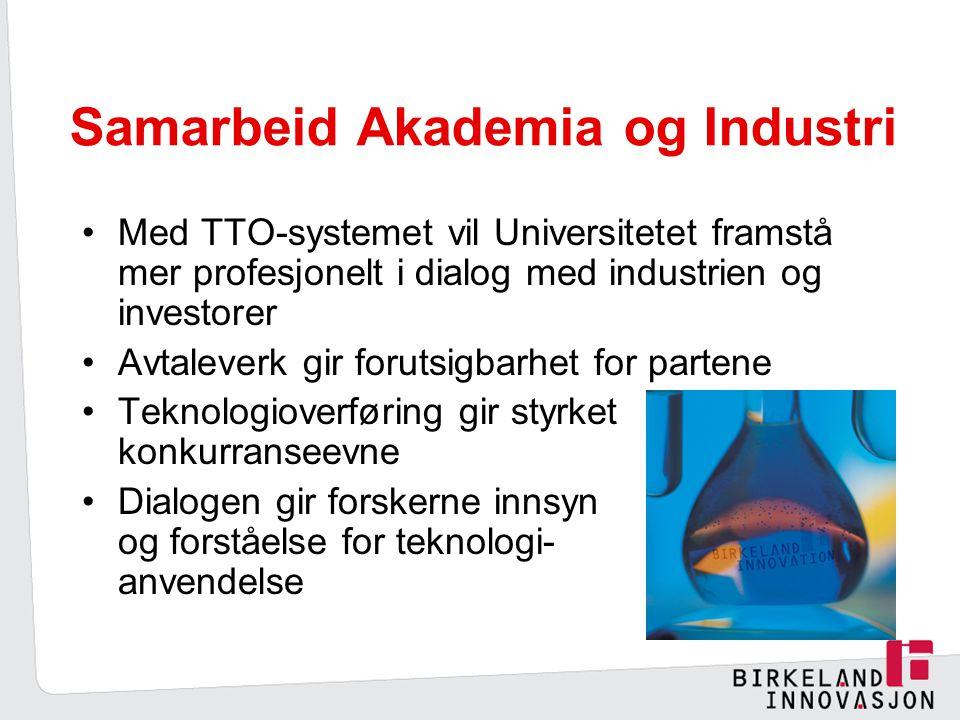Samarbeid Akademia og Industri
