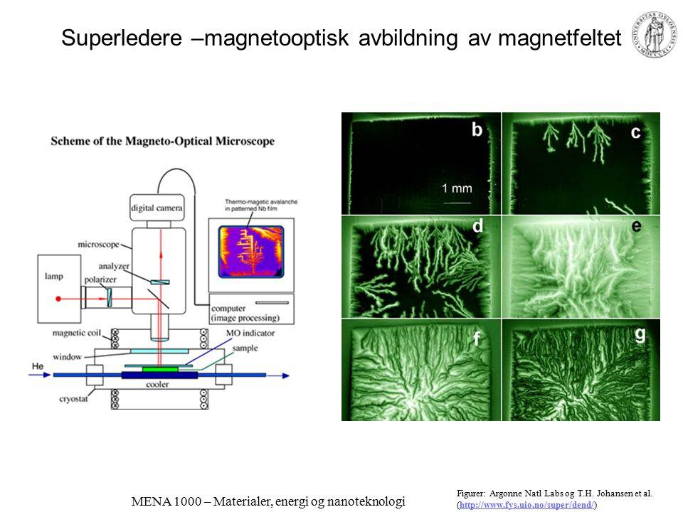 Superledere –magnetooptisk avbildning av magnetfeltet