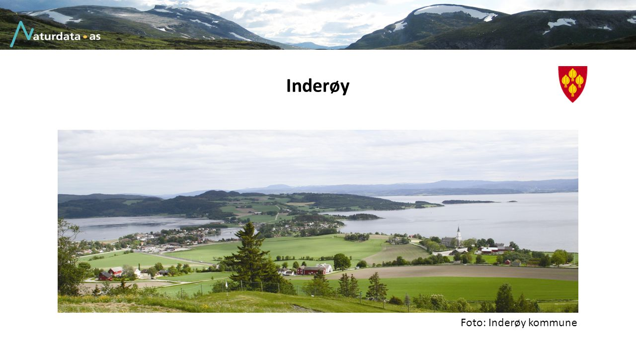 Inderøy Foto: Inderøy kommune