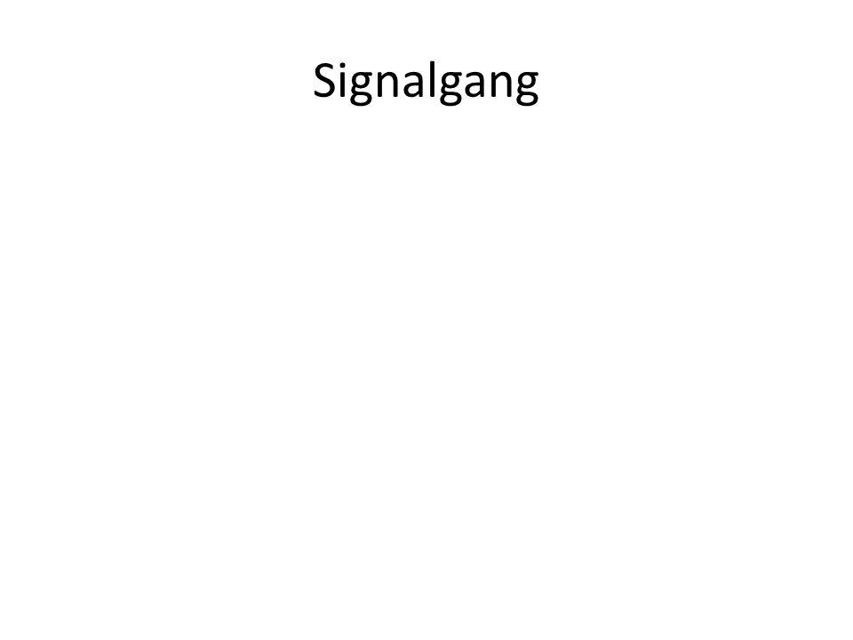 Signalgang