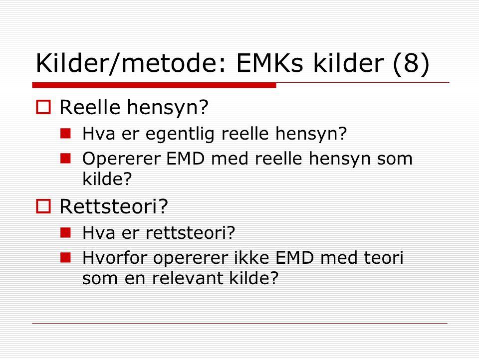 Kilder/metode: EMKs kilder (8)